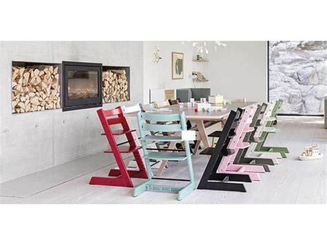 Pack Chaise Tripp Trapp Blanc Avec Baby Set Et Tablette