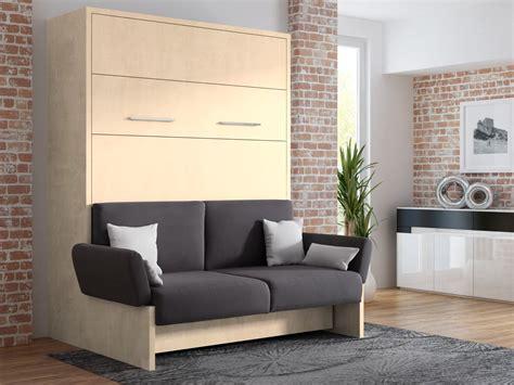 wandbett mit sofa wandbett mit sofa wbs 1 soft 160 x 200 cm in mainau birke