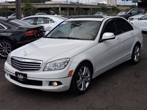 Used 2008 Mercedesbenz C300 30l Luxury At Auto House Usa