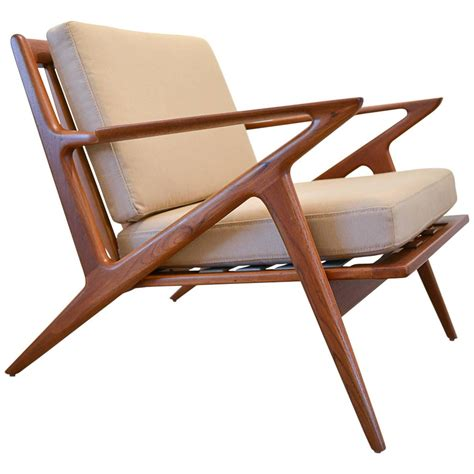 z lounge chair by poul for selig at 1stdibs