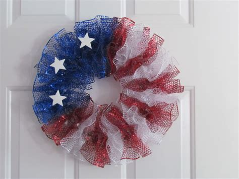 4th of july wreath creativity among friends 4th of july wreath