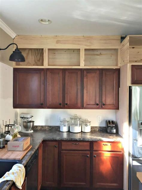 how high are kitchen cabinets adding upper cabinets to existing kitchen http