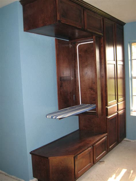 Built In Ironing Board Cabinet Home Design Ideas