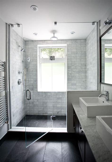 marble shower tiles  black floor tile atsarah pierce
