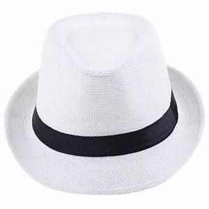 Chapeau De Paille Homme : chapeau panama blanc achat vente chapeau panama blanc ~ Nature-et-papiers.com Idées de Décoration