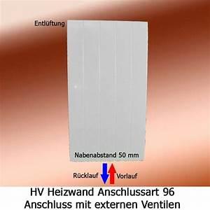 Heizkörper Vorlauf Rücklauf Anschluss : arbonia heizwand anschluss 96 von unten ~ Orissabook.com Haus und Dekorationen