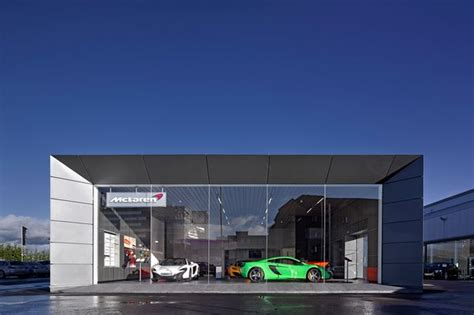 mclaren dealership mclaren showing their class with first scottish dealership
