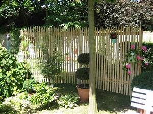 Garten Sichtschutz Holz : sichtschutz garten holz selber machen kunstrasen garten ~ Whattoseeinmadrid.com Haus und Dekorationen