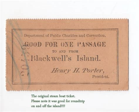 Boat Tickets by Roosevelt Islander Free Ferry Ticket To Blackwell
