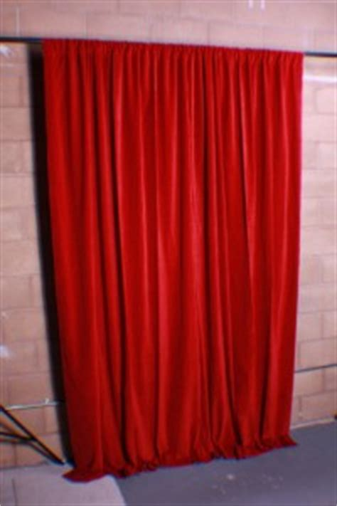 Sound Deadening Curtains Diy by Red Velvet Curtain Panel 120 Inch H Long Nightclub Bar