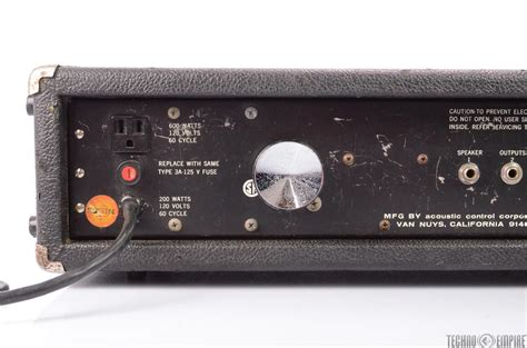 Acoustic 150 Guitar Bass Amp Head Solid State Amplifier