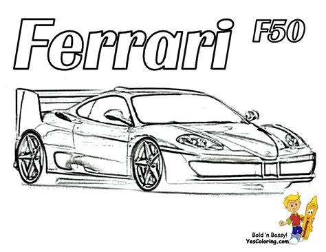pagani drawing workhorse ferrari coloring pages ferrari free car