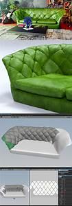 Recouvrir Un Canapé En Cuir : r aliser un canap en cuir avec marvelous designer ~ Premium-room.com Idées de Décoration