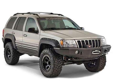 bushwacker     jeep grand cherokee wj cut