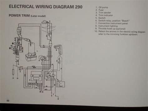 volvo penta dps trim pump wiring diagram