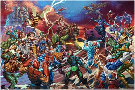 limited edition masters   universe posters  mad