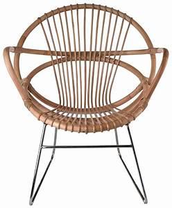 Fauteuil Rotin Ikea : singapore armchair rattan nickel feet by pols potten ~ Teatrodelosmanantiales.com Idées de Décoration