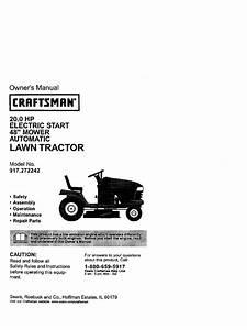 Craftsman Dlt2000 Manual