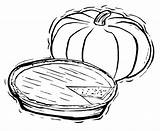 Pie Pumpkin Coloring Pages Food Squash Sheets Fall Clipart Drawing Printable Pies Action Print Man Getcolorings Clipground Pumpkins Pumkin Kidsdrawing sketch template