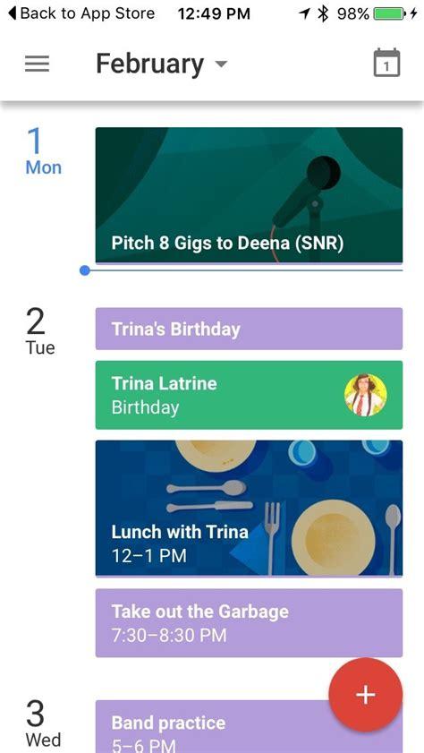 best iphone calendar app best calendar apps for iphone imore Best