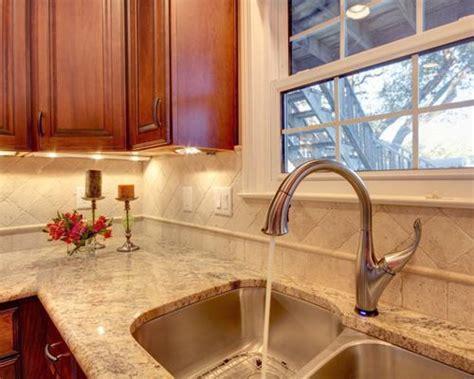Sienna Beige Granite Home Design Ideas, Pictures, Remodel