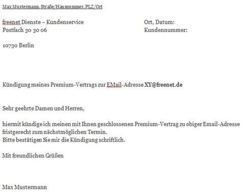kundigung  email vorlage  vorlage bewerbungsschreiben