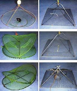 Clockwise From Top Left  Lift Net  Ln   Pyramid Trap Long