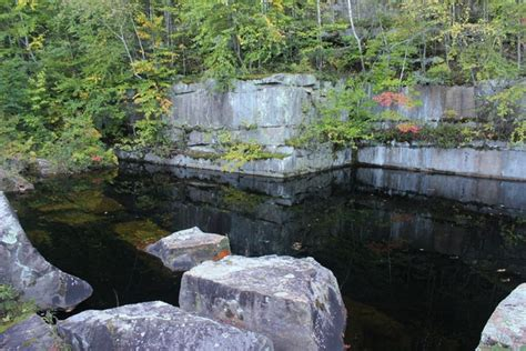 abandoned flooded quarry near sandstone mn photorator