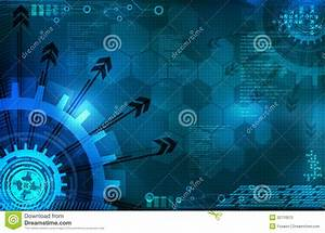Abstract Blue Background Technology Stock Photo - Image ...