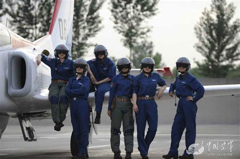 Chinese Air Force's Female Fighter Pilot