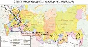 The development of the international transport corridor ...