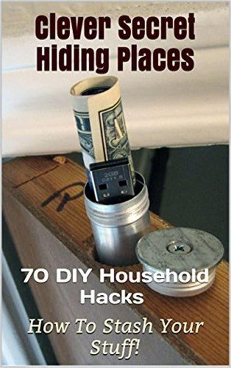 clever secret hiding places diy household hacks