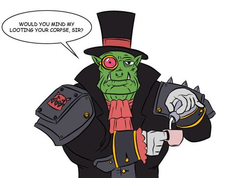 Ork Memes - gentleman ork warhammer 40 000 know your meme