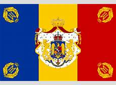 Kingdom of Romania Military flags and naval ensigns 1922