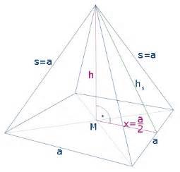 Höhe Von Pyramide Berechnen : wie berechnet man die h he einer rechteckspyramide ~ Themetempest.com Abrechnung