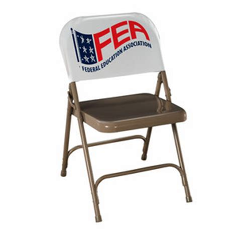folding chairs custom imprinted with your logo