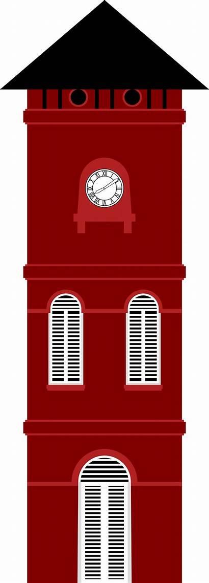 Clock Tower Clipart Malacca Melaka Swee Beng