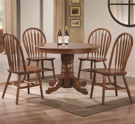 freda  piece dining set   pedestal table