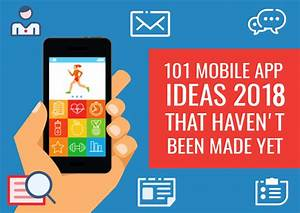 112 Brilliant Mobile Application Ideas 2020 For Your Next
