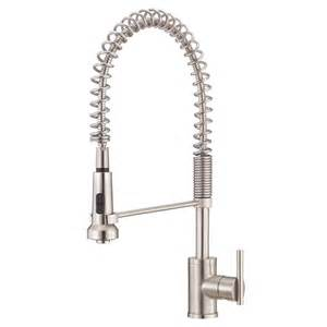 grohe kitchen faucets replacement parts shop danze parma stainless steel 1 handle pre rinse