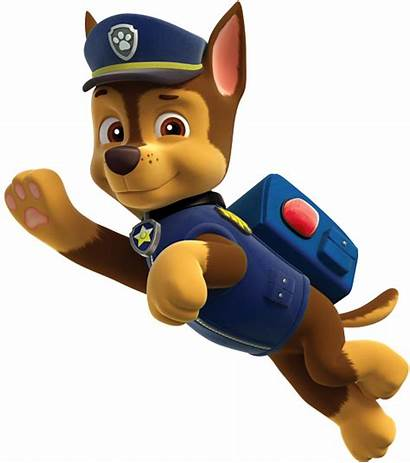 Paw Patrol Chase Transparent Dog Pups Clipart