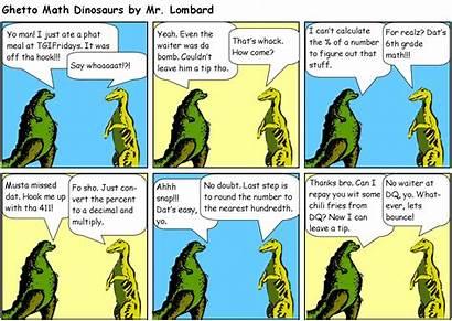 Math Comic Strip Fun Minus Plus