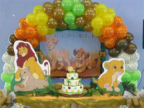 baby lion king baby shower party ideas photo