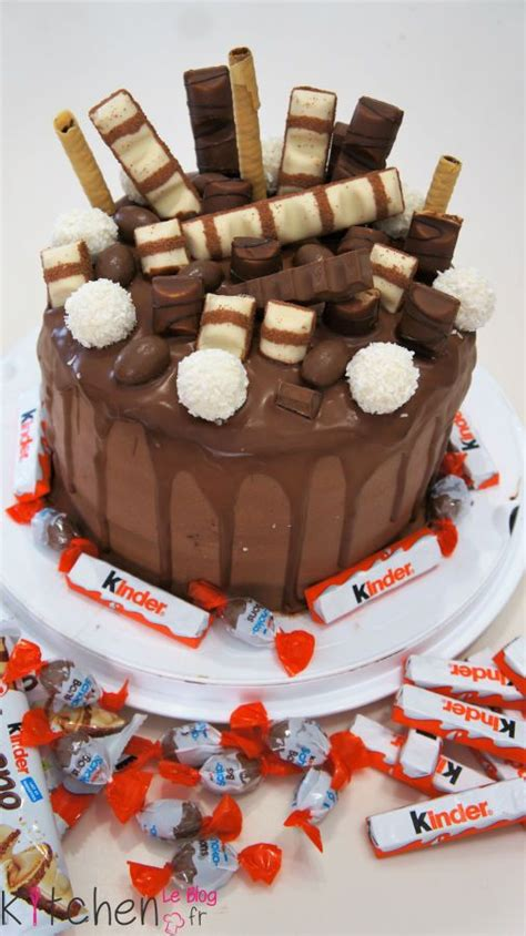 cake design kinder ou layer cake kinder desserts en