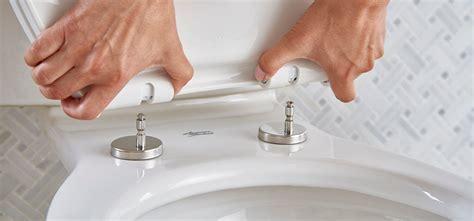 How to Remove Toilet Seat with Hidden Fixings   KUKUN