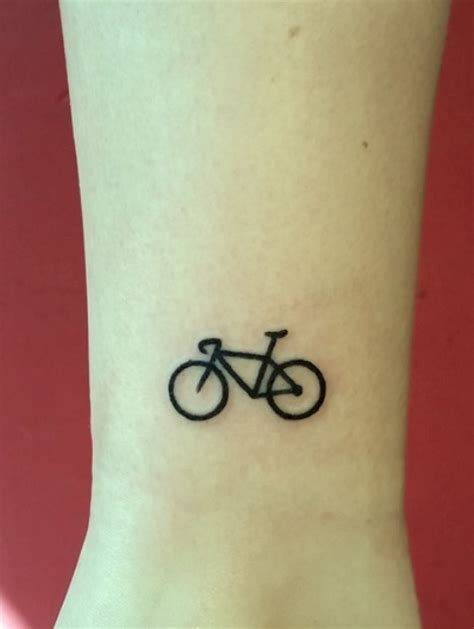 small bicycle women tattoo ideas  repeat styleoholic