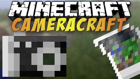 Minecraft 146  Camera Craft  Mod Review