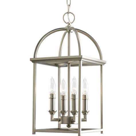 silver lantern pendant light progress lighting tally collection 4 light antique bronze