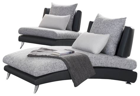 upholstered chaise lounge chairs shop houzz homelegancela inc homelegance renton