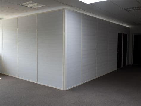 separation de bureaux pas cher les cloisons pleines toute hauteur aluminium espace